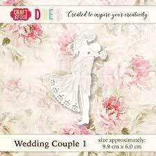 Craft&You  -Cutting Die Wedding Couple