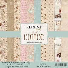 Reprint - Coffe  - 8 x 8
