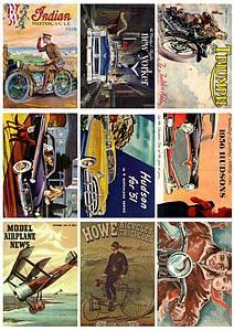 Reprint - Klippeark - Vehicles - A4