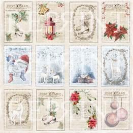 Reprint - 12 x 12 Christmas time - Tags