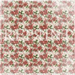 Reprint - 12 x 12 Christmas time - Poisinettia