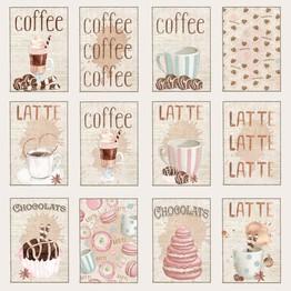 Reprint - 12 x 12 Coffee - Tags