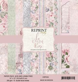 Reprint - 12 x 12 La Vie en Rose collection pack