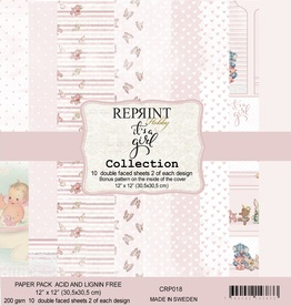Reprint - 12 x 12 - It`s a girl - collection pack
