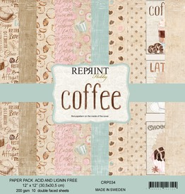 Reprint - 12 x 12 - Coffee  - collection pack -
