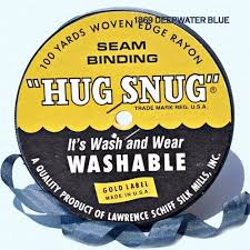 Hug snug - Seambinding - Deepwater Blue