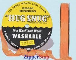 Hug snug - Seambinding - Orange
