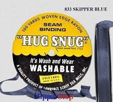 Hug snug - Seambinding - Skipper Blue