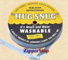 Hug snug - Seambinding - Danish Blue