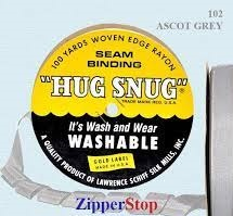 Hug snug - Seambinding - Ascot Grey