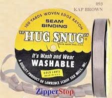 Hug snug - Seambinding - kap brown