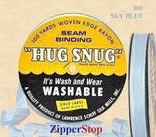 Hug snug - Seambinding - Sky Blue