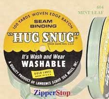 Hug snug - Seambinding - Mint Leaf
