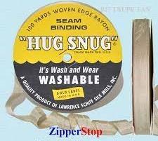 Hug snug - Seambinding - Taupe tan