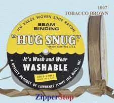Hug snug - Seambinding - tobacco Brown