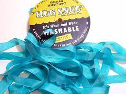 Hug snug - Seambinding - Pearl Aqua