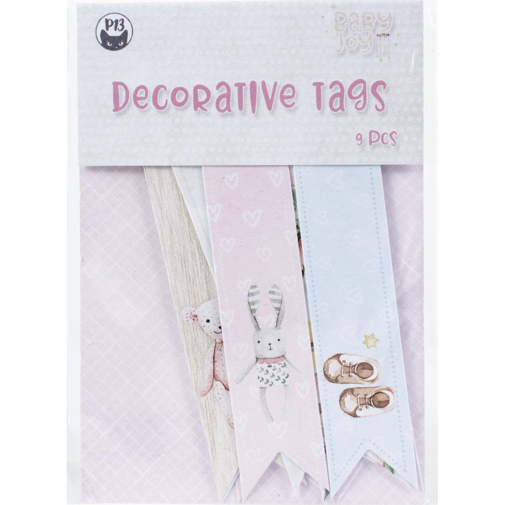 P13 -  Baby Joy - Double-Sided Cardstock Tags #2