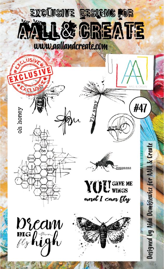 AAll&create - A6 STAMPS  - #47