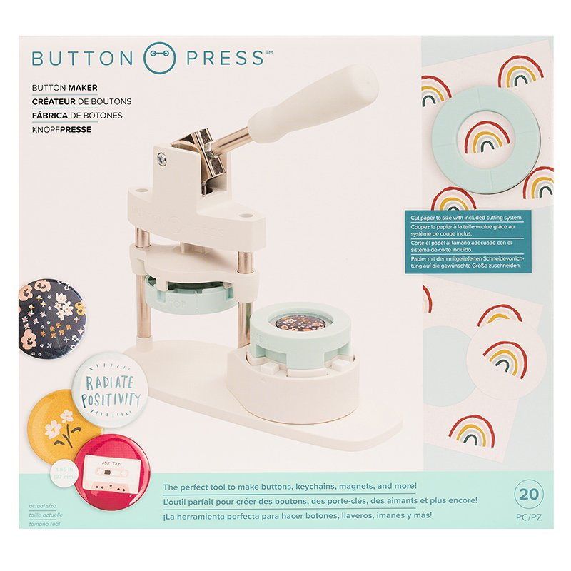 We R Memory Keepers • Button press kit