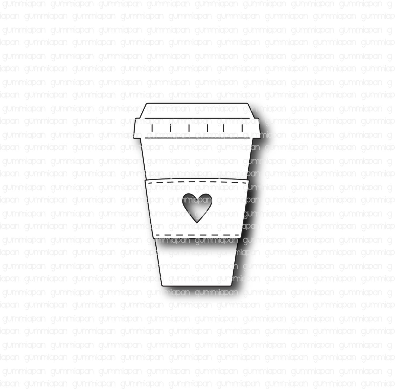 Gummiapan - Coffee to go - Dies