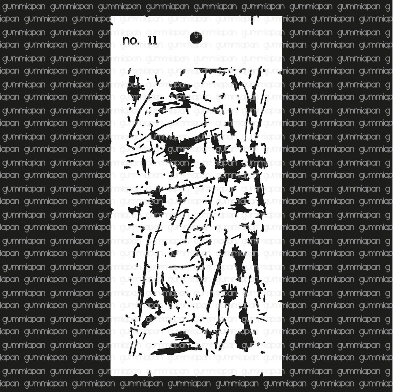 Gummiapan -Stencil nr 11