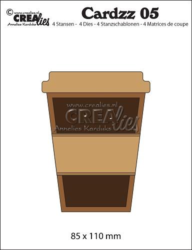 Crealies-Cardzz dies no. 5, Mug to go