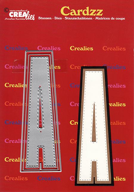 Crealies- STORT Alfabet