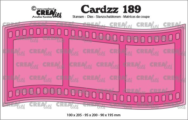 Crealies - Filmstrip - no. 189, Slimline