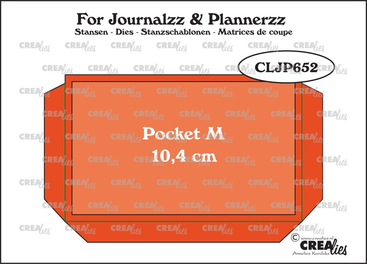 Crealies - Pocket Medium (10,4 cm