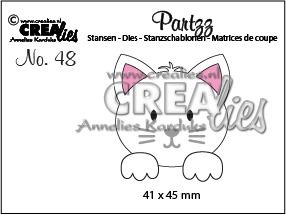 Crealies - Cat
