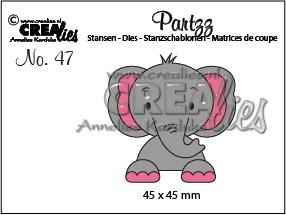 Crealies - Elefant