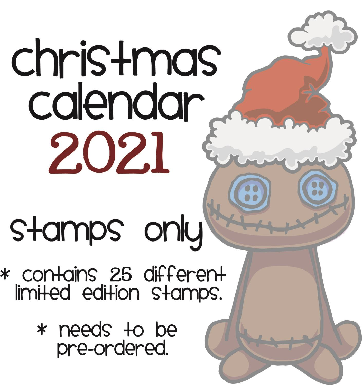 Gummiapan - Adventkalender - Stempel