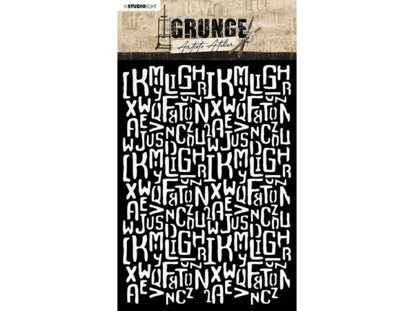 Studio Light • Grunge - Artist`s Atelier Mask Letters
