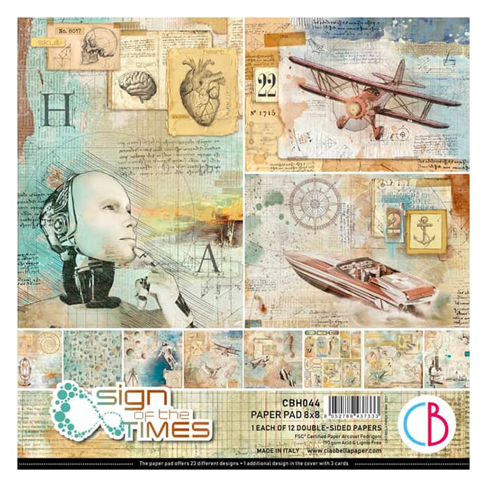 """Ciao Bella -Sign of the times 8""""X8"""""""