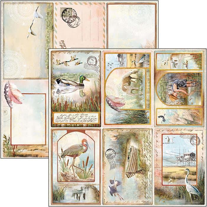 "CIAO BELLA - Delta - Postcards - Cards - 12 X 12"""
