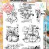 Aall&Create -Basic Veggies #448 - A4 STAMPS -