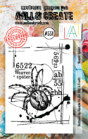 AAll&Create - Weaver Spider- #551-  STAMP -