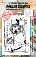 AAll&Create - Beetle Family - #546-  STAMP -