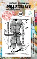 AAll&Create - Damselfly - #547-  STAMP -