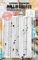 AAll&Create - Reckoner Digits- #543-  STAMP -