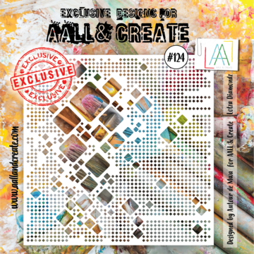Aall&Create - 6 x 6 - #124 - Lotza Diamondz
