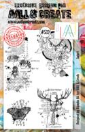 Aall&Create - A5 stempel - Safari - #532