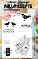 Aall&Create - A5 stempel - Blackbird - #530