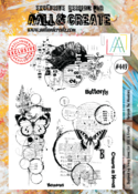 Aall&Create -Thought the Meadows #449 - A4 STAMPS -