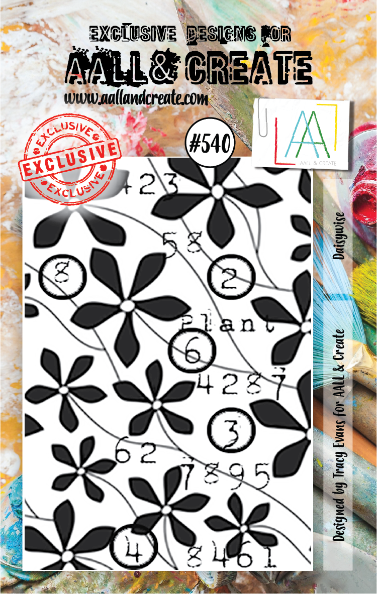 AAll&Create - A7 STAMP - Daisywise - #540
