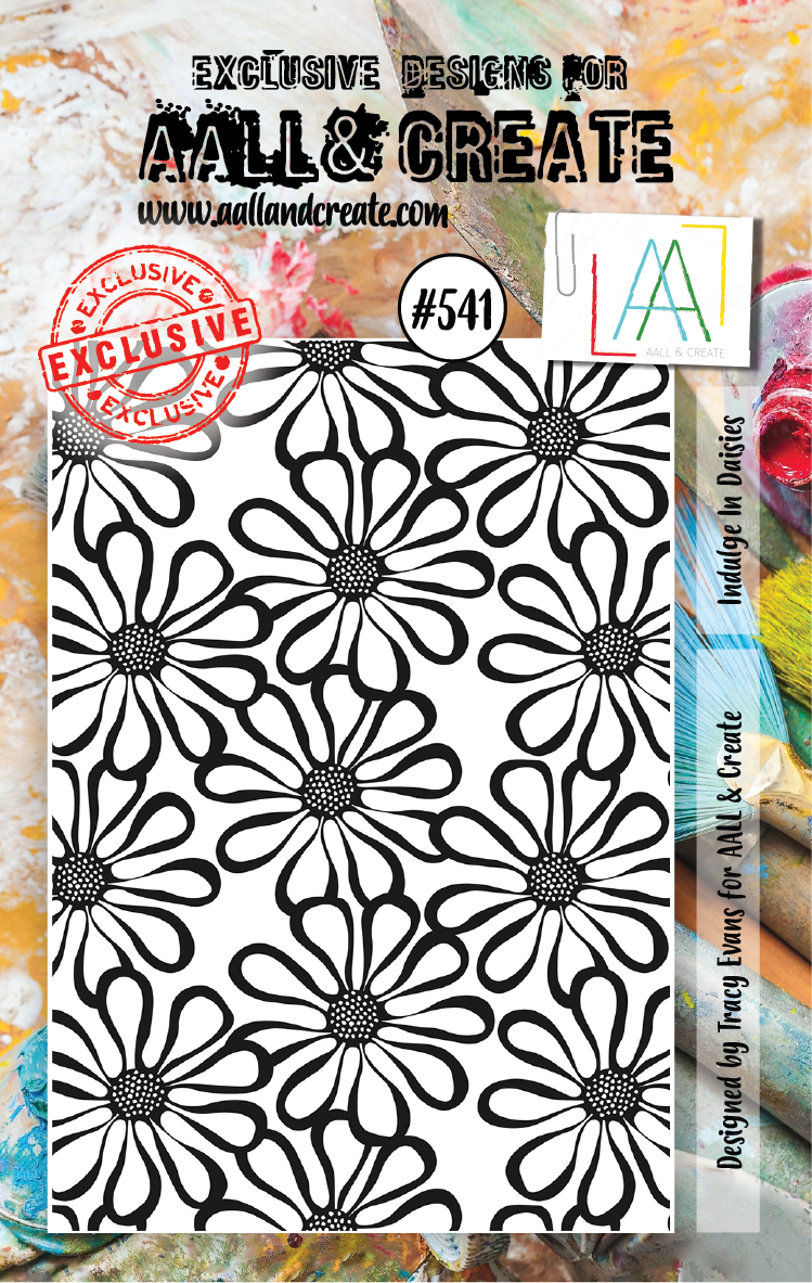 AAll&Create - A7 STAMP - Indulge In Daisies - #541