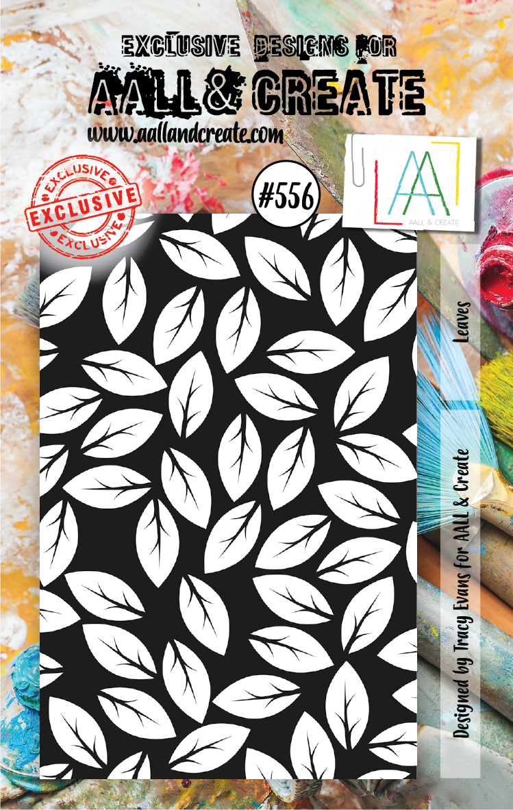 AAll&Create - A7 STAMP - Leaves - #556