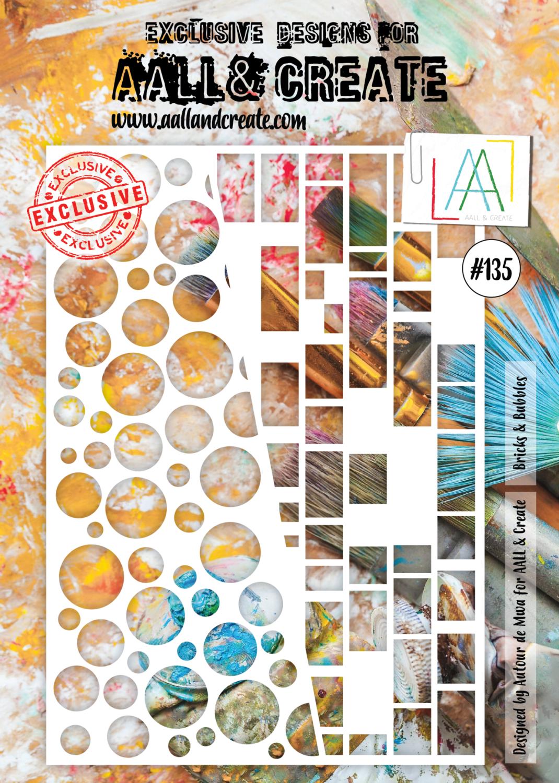 AAll&Create - A4 - #135 - Bricks & Bubbles
