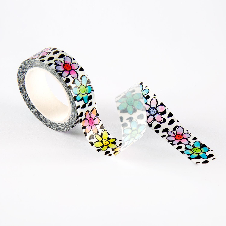 Aall & create - #22 - WASHI TAPE - Flowerdancing