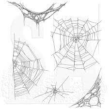 """Tim Holtz - Tangled Webs-  CMS 346 - Cling Stamps 7""""X8.5"""""""